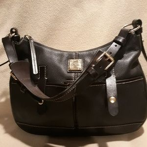 Dooney and Bourke dark brown leather bag